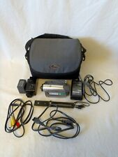 Sony Dcr-Hc28 miniDv camcorder with Hvl-Irm Light, Ac Adapter,Cassette and more