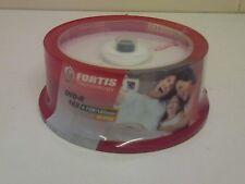 Fortis Branded DVD-R 16x 25 pack NEW