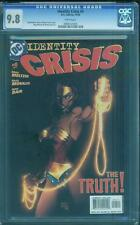 Identity Crisis 4 CGC 9.8 Michael Turner Wonder Woman Movie Perfect 1 Gal Gadot