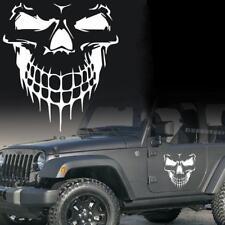 White Skull Car Hood Decal Vinyl Large Graphic Sticker SUV Truck Tailgate Window