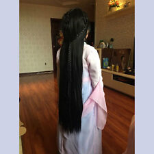 Periwig Hair Wig Hairpiece For Chinese Retro Style Archaic Traditional Cosplay