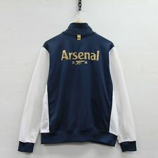 Vintage Arsenal Gunners Nike Track Jacket Large Soccer Football Premier League