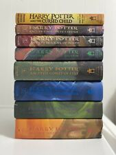 Harry Potter Series Book Lot Complete Set 1-7 All Hardcover + Cursed Child HC