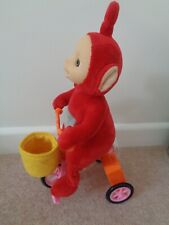 Teletubbies Musical Cycling Po On Bike Moving & Music Soft Toy