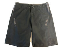 New listing Rip Curl Mirage Ultimate Stretch Surf Board Shorts Men's Size 34 Black grey