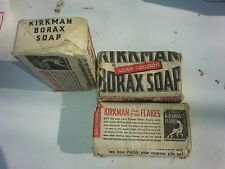 old vintage nos Kirkman Borax Soap unused good condition