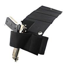 Under Mattress Bedside Car Seat Pistol Gun Holster w/ Flashlight Magazine Holder