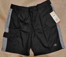 OP Ocean Pacific Board Shorts Swim Trunks Elastic Waist Mens Size Large 36-38