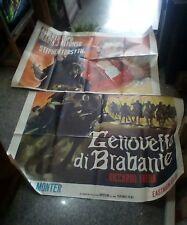 Geneviève de Brabant Manifesto 4F Original 1964 Alberto Lupo
