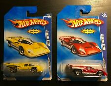 HOT WHEELS FERRARI 512M 2009 HW SPECIAL FEATURES lot Red and Yellow