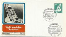 "German Space Shuttle First Day Cover Weltraumlabor ""Spacelab"" 1975 Berlin Z5383"