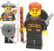 C338 Lego the Wanderer Swordman Minifigure with Flute NEW