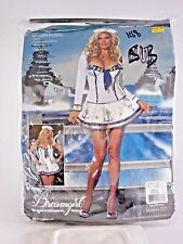 Plus Size 2X32X Women's Navy Sailor Costume Cosplay Halloween Party Sexy