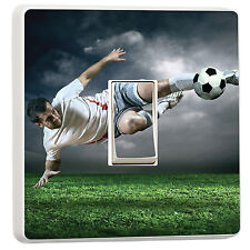 Childrens Footballer light switch cover photo (24391728) Football sports ball