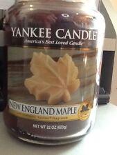 Yankee Candle Nueva Inglaterra Arce Deerfield exclusivo Hoja de Arce