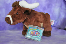 Webkinz Longhorn Steer ~ NWT  FAST SHIPPING ~  Service with a :) !! Texas Ranch!