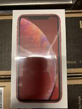 IPHONE APPLE XR 64GB ROSSO RED NUOVO SIGILLATO
