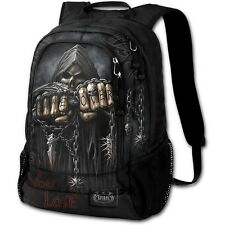 SPIRAL DIRECT GAME OVER BACK PACK - WITH LAPTOP POCKET Skull/Reaper/Unisex/Bag