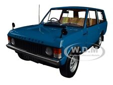1970 RANGE ROVER LAND ROVER BLUE 1/18 DIECAST MODEL CAR BY ALMOST REAL 810101