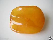 Natur Bernstein Wellenschliff Brosche Butterscotch 8,9 g Genuine Amber Brooch