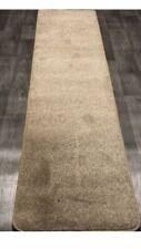 Wexford Runner Rug Latte Beige Pile Rug 600cm x 60cm