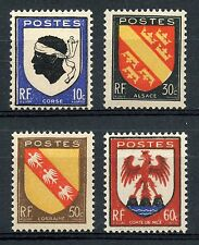 STAMP / TIMBRE FRANCE NEUF N° 755/758 ** ARMOIRIES / BLASONS