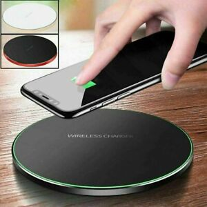 Wireless Charger Fast Charging Pad, iPhone 11 Pro X XR XS Max 8 Plus