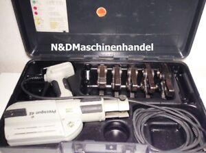 Viega Pressmaschine 4E mit 5 Pressbacken Presszange Presse Presswerkzeug