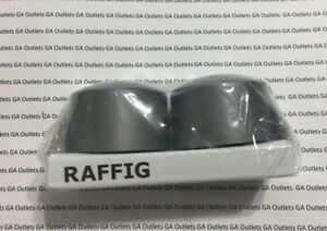 IKEA Raffig Finials 1 Pair Grey 002.199.37 16039 1625 Curtain Rod Screw End Caps