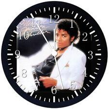 Michael Jackson Black Frame Wall Clock Nice For Decor or Gifts E384