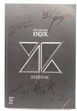 Signed KNK The 1st Single Album: KNOCK - K-POP Rare OOP (CD) Very Good