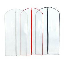 Hangerworld Pack of 18 Clear 40 in Showerproof Suit Covers Garment Clothes Bags
