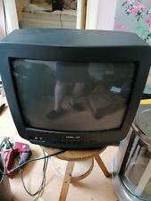 "VINTAGE Portable Samsung 14"" TELEVISION Retro Gaming Colour CRT"