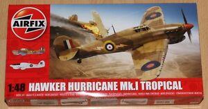Airfix A05129 1:48 Bausatz Hawker Hurricane Mk.I Tropical
