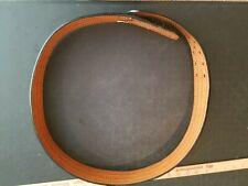 Vintage Us Made Police Law Enforcement Large Leather Utility Belt