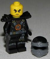 Lego New Cole Ninjago Minifigure Ninja Minifig Round Torso Emblem Fig