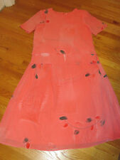 VICTORIA MORGAN 2 pc EASTER Mother's Day CORAL BOUTIQUE Secret DRESS Womens Sz 8