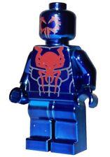*NEW* LEGO Custom Printed - CHROME SPIDER-MAN 2099 - Marvel Spiderman Minifigure