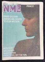 NME 2 August 1986 Prince David Sylvian Nick Cave Sellafield Bananarama