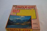 Jig Saw Puzzle Circle Cut Picutre Puzzle Fairchild
