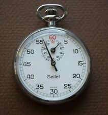 VINTAGE GALLET STOP WATCH. SWISS MADE. WORKS