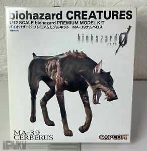 Nintendo GameCube Biohazard 0,1/12 Cerberus MA-39 Premium Model Kit