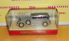 Matchbox MODELS OF YESTERYEAR Y40-1 1931 MERCEDES BENZ 770