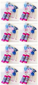 8 x Seifenblasenpistole mit LED Seifenblasen Fisch Bubble Gun Batterie gratis