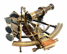 "Marine Captain Sextant - Brass Nautical Astrolabe 8"" - Henry Barrow & Co. London"