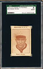1923-24 Tomas Gutierrez Rosy Ryan SGC A = PSA Negro League card!