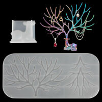 Silicone Deer Stand Resin Casting Mold Jewelry Pendant Organizer Mould DIY Craft