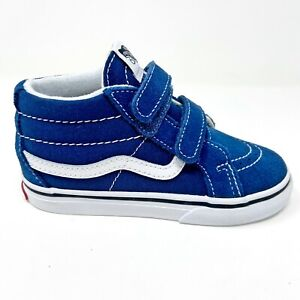 Vans Sk8 Mid Reissue V Gibraltar Sea Blue True White Baby Toddler Shoes