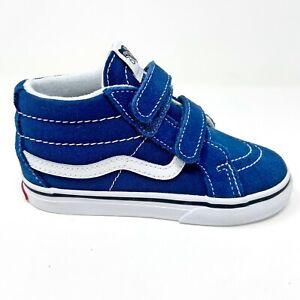 Vans Sk8 Mid Reissue V Gibraltar Sea Blue True White Baby Toddler Shoes