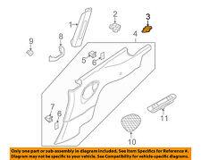 PORSCHE OEM 2007 911 Interior-Coat Hook Cover Right 997555774005Y2